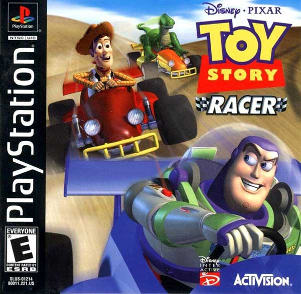 Disney's Toy Story Racer [U] Front Cover